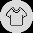 【ペアルック】七分袖韓国系POLOネックシングルブレストプリントストライプ柄シャツ